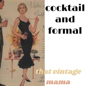 Cocktail and formal wear